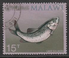 Malawi 1974 35th Anniversary Of Malawi Angling Society 15 T Multicoloured SW 214 O Used - Malawi (1964-...)