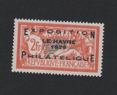 Faux N° 257A Exposition Philatélique Du Havre 2 F Merson Gomme Chranière - Unused Stamps