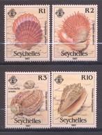 Seychelles, Yvert 623/626, Scott 614/617, MNH - Seychelles (1976-...)