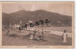 CPA - ITALIE - LIGURIA - LA SPEZIA - LEVANTO - Spiaggia Di Vallesanta - 1936 - La Spezia