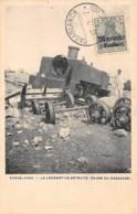 Maroc / 24 - Casablanca - La Locomotive Détruite - Belle Oblitération - Morocco
