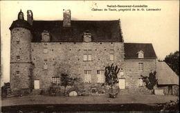 50  SAINT SAUVEUR - LENDELIN  Chateau De Taute - Andere Gemeenten