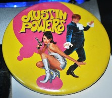 Rare Grand Badge 7.5 Cm Austin Powers - Merchandising