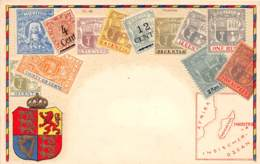 Maurice / 02 - Carte Avec Timbres - Beau Cliché - Mauritius