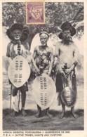 Mozambique - Ethnic / 06 - Guerreiros De 1895 - Native Tribes - Mozambique