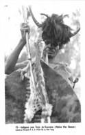 Mozambique - Ethnic / 08 - Indigena Com Trajo De Guerreiro - Mozambique