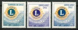 1967 Cile Lyons Set MNH** Spa91 - Cile