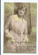Birthday Postcard Ivy Close Philco Series Photo Evelyn Neame Posted - Compleanni