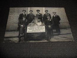 Kerkhove ( Avelgem ) Inschrijving Op 9 Mei 1920 Der Groote Velokoersen Door De Vereenigde Herbergiers Der Plaats - Avelgem