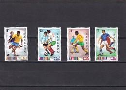 Barbuda Nº 168 Al 171 - Antigua Y Barbuda (1981-...)
