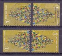 Belgie - 2019 - OBP -  Kerstzegels - Zonder Papierresten - Usati
