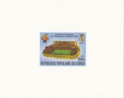 Congo Nº A280 Al A284 En Pruebas - Fußball-Weltmeisterschaft