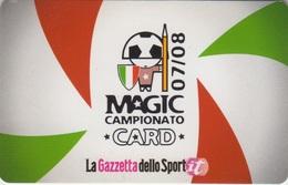 La Gazzetta Dello Sport Magic Card - Altre Collezioni