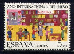 ESPAGNE - 2165** - ANNEE INTERNATIONALE DE L'ENFANT - 1931-Aujourd'hui: II. République - ....Juan Carlos I