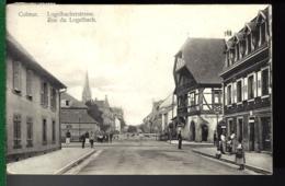 CARTE DE COLMAR - RUE DE LOGELBACH - Alsace