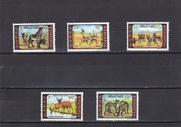Etiopia Nº 974 Al 978 - Etiopía