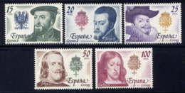 ESPAGNE - 2198/2202** - ROIS D'ESPAGNE - 1931-Aujourd'hui: II. République - ....Juan Carlos I