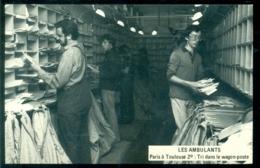 France 1984 Carte Postale Les Ambulants - France