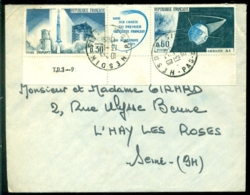 France 1965 Enveloppe Avec Mi 1530-1531 - Covers & Documents