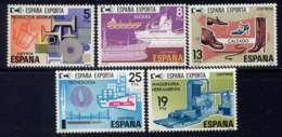 ESPAGNE - 2209/2213** - EXPORTATIONS - 1931-Aujourd'hui: II. République - ....Juan Carlos I