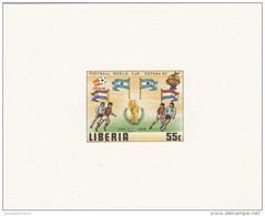 Liberia Nº 886 Al 891 En Pruebas - Fußball-Weltmeisterschaft