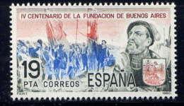 ESPAGNE - 2225** - 400è ANNIVERSAIRE DE BUENOS A1RES - 1931-Aujourd'hui: II. République - ....Juan Carlos I