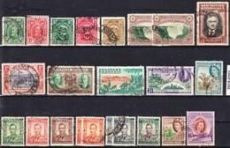 2018-0292 Southern Rhodesia Lot Used O - Rhodésie Du Sud (...-1964)