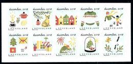 Nederland 2018: Decemberzegels** MNH - Period 2013-... (Willem-Alexander)