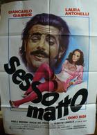 SESSO MATTO - Posters