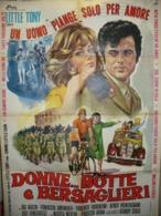 DONNE BOTTE E...BERSAGLIERI - Manifesti & Poster
