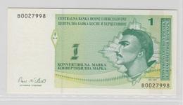 BOSNIE HERZEGOVINE 1 Marka 1998 P59a UNC - Bosnie-Herzegovine