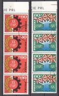 Polen; 1963; Michel 1473/4 *; 20 Jahrestag Je 4x - 1944-.... Repubblica