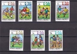 Maldivas Nº 496 Al 502 - Maldivas (1965-...)