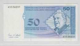BOSNIE HERZEGOVINE 50 Pfeniga 1998 P58a UNC - Bosnie-Herzegovine