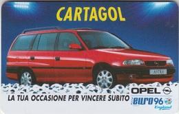 CartaGol Opel Euro 96 - Altre Collezioni