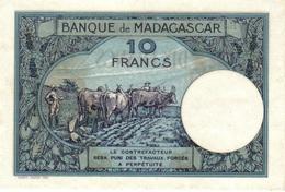 10 FRANCS 1937 NEUF - Madagascar