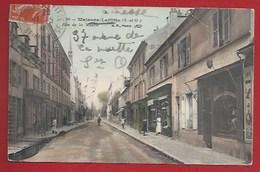78 - MAISONS-LAFFITTE - RUE DE LA MUETTE - COMMERCES- RECOUVRAGES, RÉPARATIONS... 1910 - Maisons-Laffitte