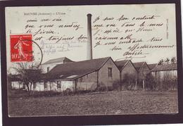 Old PC - 08 - Ardennes - HAUVINÉ HAUVINE - L'Usine 1918, Cauroy Semide Machault Leffincourt - France