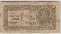 YOUGOSLAVIE 1 Dinara 1944 P48a VG - Yougoslavie