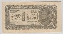 YOUGOSLAVIE 1 Dinara 1944 P48c VF - Yougoslavie