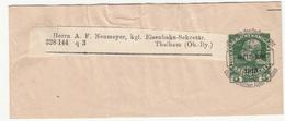 Austria, Postal Stationery Newspaper Wraper Travelled 1913 B190101 - Entiers Postaux