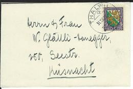 SBK J37, Mi 218 Thalwil - Briefe U. Dokumente