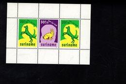 694027954 SURINAME POSTFRIS MINT NEVER HINGED POSTFRISCH EINWANDFREI SCOTT B243 DOGS AND RABBIT - Surinam