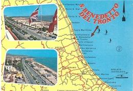 S,BENEDETTO DEL TRONTO - Carte Geografiche