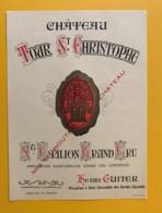 9499 -Château Tour St-Christophe Saint Emilion Format 15 X 11 - Bordeaux