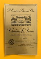 9500  - Château Le Jurat 1982 Saint Emilion - Bordeaux