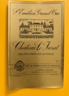 9501  - Château Le Jurat Saint Emilion - Bordeaux