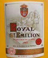 9519  - Royal  Saint Emilion 1966 - Bordeaux
