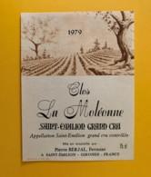 9520  - Clos La Moléonne 1979 Saint Emilion - Bordeaux