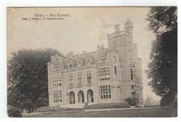 Zoersel Halle. - Het Kasteel  1910 - Zoersel